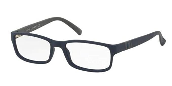 30c61306123 Image Unavailable. Image not available for. Color  Polo Men s PH2154  Eyeglasses Matte Navy Blue 54mm