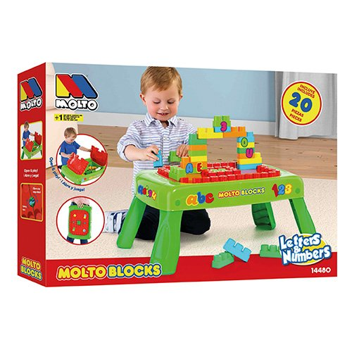 M Table Et BlocksJeux Jouets Molto fyv6g7bY