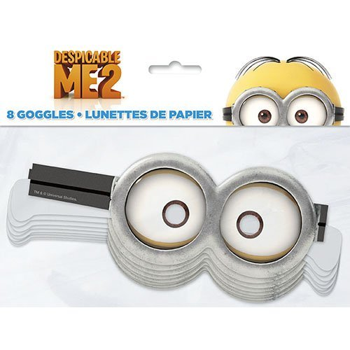 Despicable Me Paper Goggles [8 Per Pack] ()