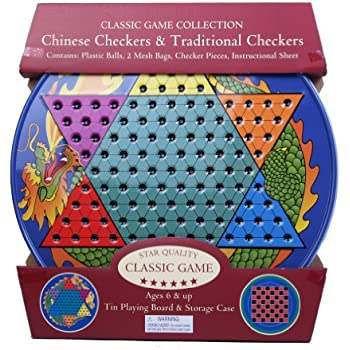 Chinese Checkers and Traditional Checkers