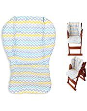 Ancho Highchair / Seat Cushion Protective Film Breathable Waterproof High Chair Pad (Colored Willow)