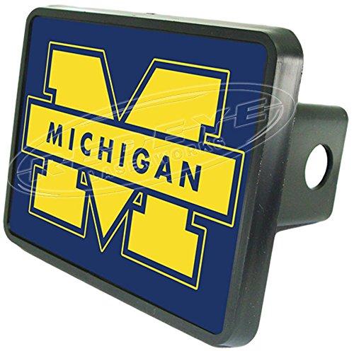 University of Michigan Wolverines Hitch PlugからRedeye Laserworks Fits 2