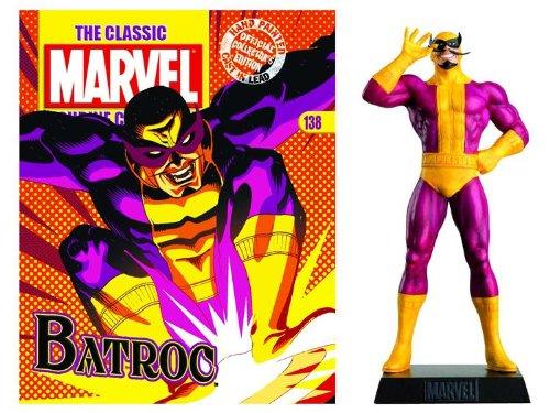 The Classic Marvel Collection Magazine #138 with figurine - Batroc (Figurine Magazine)