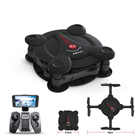 Ydq Mini Drone Plegable 720P, RC Drone Night Light Flying RC ...