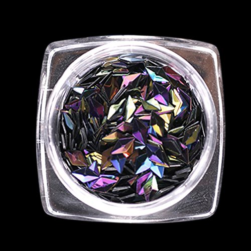 Beautiful Sequins Nail Art Glitter Mini Paillette Elegant Diamond Shape Nail Art Glitter Tips Manicure Decorations