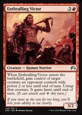 Magic: the Gathering - Enthralling Victor (142/272) - Origins