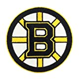 1 X Boston Bruins Logo Embroidered Iron Patches by BaBaLy