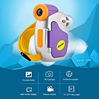 DV-C7 1080P Children Kid Digital Video Camera 1.44 Colorful Display Multiple Languages Christmas Gift