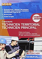 Technicien territorial - Technicien principal Catégorie B - 2015 - 2016
