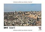 Israel II 2019 - Timokrates Tischkalender, Bilderkalender, Fotokalender - DIN A5 (21 x 15 cm)