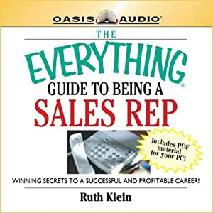 The Everything Guide to Being a Sales Rep Book Audiobook