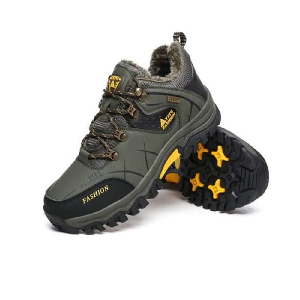 Winter Männer und Frauen im Freien sowie SAMT warme Wanderschuhe Rutschfeste Wandern Schneeschuhe Wandern Camping Stiefel und Stiefeletten