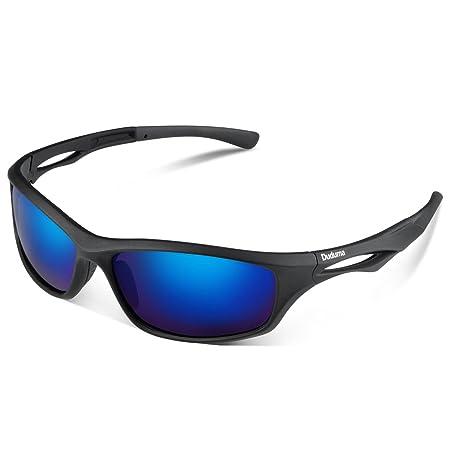 Duduma Polarisierte Sportbrille Sonnenbrille Fahrradbrille mit UV400 Schutz für Damen & Herren Autofahren Laufen Radfahren An