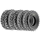 SunF Sport A/T UTV ATV Tires 25x8-12 & 25x11-10 6 PR A010 (Full set of 4)