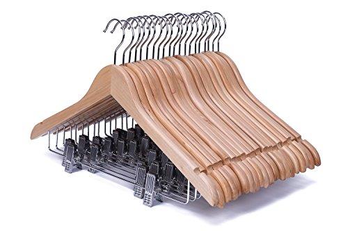 J.S. Hanger Solid Natural Finish Wooden