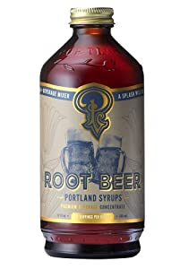 Portland Soda Works, Syrup Cocktail And Soda Root Beer, 12 Ounce - 1 Pack