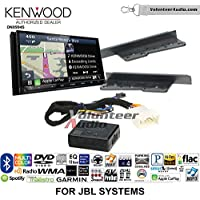 Kenwood Excelon DNX994S Double Din Radio Install Kit with GPS Navigation Apple CarPlay Android Auto Fits 2003-2006, Toyota Tundra, 2005-2007 Toyota Highlander (With Factory JBL System)