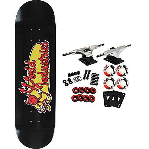 World Industries Skateboard Complete Devilman Classic 8.1