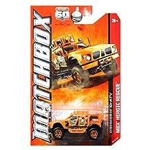 OSHKOSH M-ATV * MBX HEROIC RESCUE * 60th Anniversary Matchbox 2013 Basic Die-Cast Vehicle (#84 of 120) by Mattel