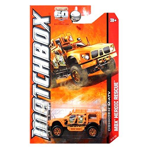 Miniature Atv (Matchbox 2013 Heroic Rescue Oshkosh M-ATV MATV Military Orange)