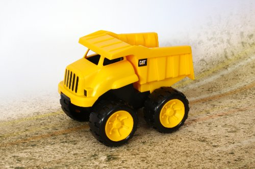 Toy State Caterpillar Construction 8'' Tough Tracks 2-Pack: Dump Truck And Excavator