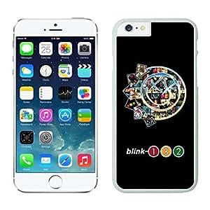 NEW DIY Unique Designed Case For iphone 6 plus Blink 182 iphone 6 plus White 5.5 TPU inch Phone Case 054
