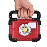 30W COB LED Rechargeable Flood Light Spot Work Camping Fishing Outdoor Lawn Lamp by Dressffe