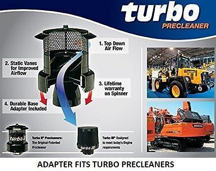 "9Y9431 Precleaner Group Fits Cat Caterpillar Equipment w 3/"" Intake"