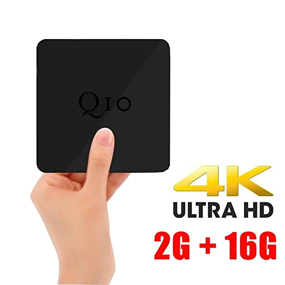 REDGO Q10 Android 6 0 Smart TV Box 2GB 16GB 4K Video Player with Dual WiFi  2 4/5GHz Bluetooth 4 0 Home Entertainment Google Box