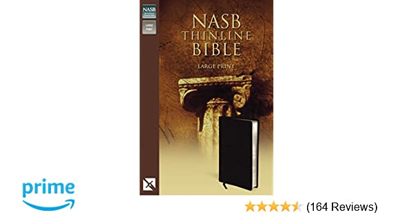 NASB Classic Reference Bible-Brg Bond
