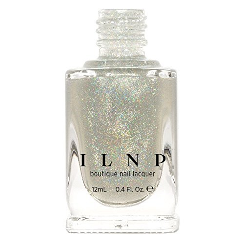 ILNP My Private Rainbow (Linear & Scattered) - Holographic Spectraflair Nail Polish Top Coat by ILNP Cosmetics, Inc. Inc.