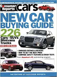 new car buying guide 2005 2006 editors of consumer reports 9780890439999 books. Black Bedroom Furniture Sets. Home Design Ideas
