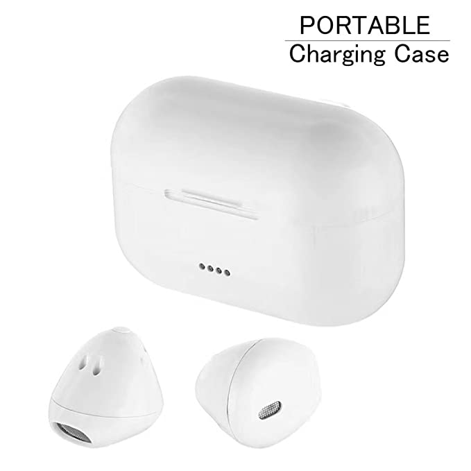 8230eea2ee0 BECROWMUS Mini Bluetooth Earbud Smallest Wireless Invisible Twins Headphone  with Charging Box Car Headset with Mic