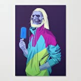 GAME OF THRONES 8090s ERA CHARACTERS White Walker Art Canvas Wall Art Prints 12 x 16 Inch Framed Modern Decor Paintings Artwork for Living Room and Bedroom Decorations