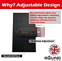 Staffa da parete per altoparlante Bose Soundbar 500 Soundbar 700 Soundtouch 300