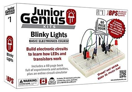 Amazon.com: Junior Genius Kit #1 - Blinky Lights: Industrial ...