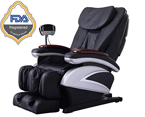 Chair Electric Shiatsu Massage Recliner Full Body W/Heat Foot Stretched Ergonomic Deluxe Zero Gravity - Ga Mall Outlet