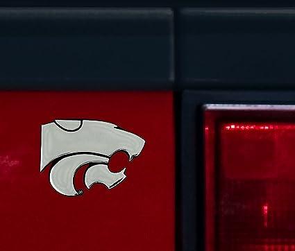 Ncaa kansas state wildcats chrome auto emblem