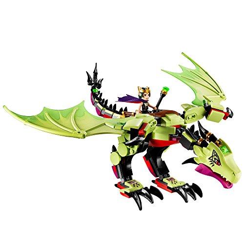51SHEJJ7rdL - LEGO Elves The Goblin King's Evil DRAGON 41183 Building Kit (339 Pieces)