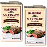 Lea & Perrins Marinade In A Bag - Cracked Peppercorn - Net Wt 12 OZ (340 g) - Pack of 2
