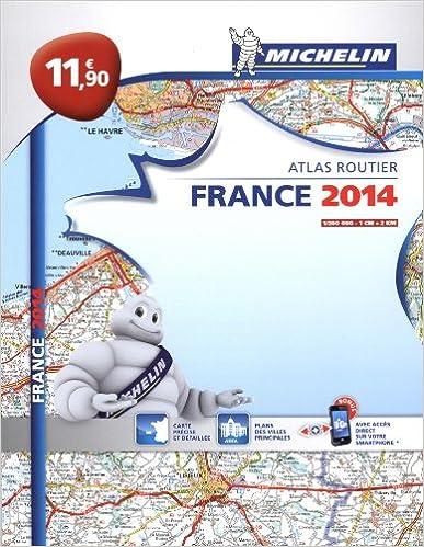Livre Atlas Routier France 2014 Michelin Broché L'essentiel epub, pdf
