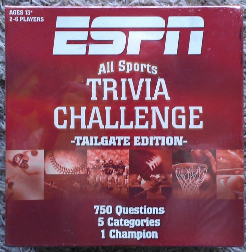 espn all sports trivia challenge board game - 2