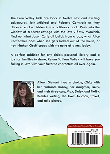 Return to Fern Valley: Another Collection of Short Stories by Author Aileen Stewart (Image #1)
