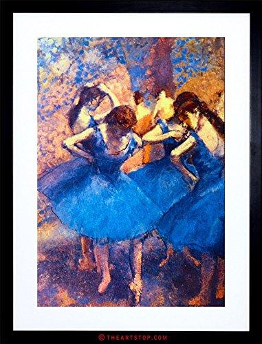 - PAINTING DEGAS BALLERINE OLD MASTER FRAMED PICTURE ART PRINT F97X8375