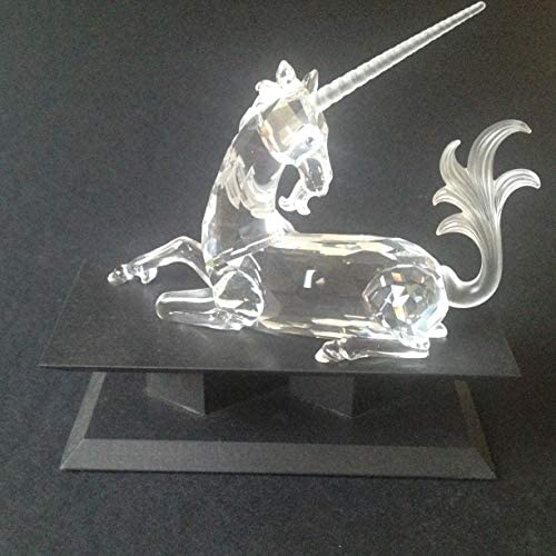 Swarovski Unicorn Fabulous Creatures Series SCS 1996 Limited Edition Crystal Figurine with Box and Certificate Mint Condition