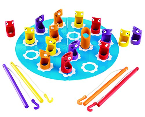 Bamboo Shark - Hape Shark Fishery Kid's Bamboo Board Game