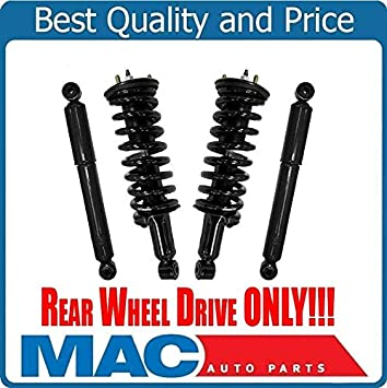 2 New FRONT Complete Coil Spring Struts For Rear Wheel Drive 11-18 300C 5.7L