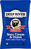 deep river kettle chips - Deep River Kettle Sour Cream & Onion Krinkle Cut Potato Chips, 2 Ounce (Pack of 24)