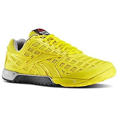 Womens Shoes Reebok Crossfit Nano 3.0 Trainers Ladies UK 6.5 EU 40 Yellow  V61391  Amazon.co.uk  Shoes   Bags 097260c55