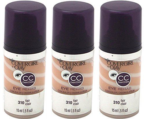 CoverGirl Plus Olay Eye Rehab Concealer (Fair 310,0.5 oz) PACK OF 3 by COVERGIRL